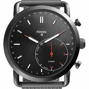 Fossil Accessories - New Fossil Q Men's Stainless Steel Mesh Smartwatch